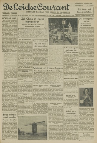 Leidse Courant 1950-08-31