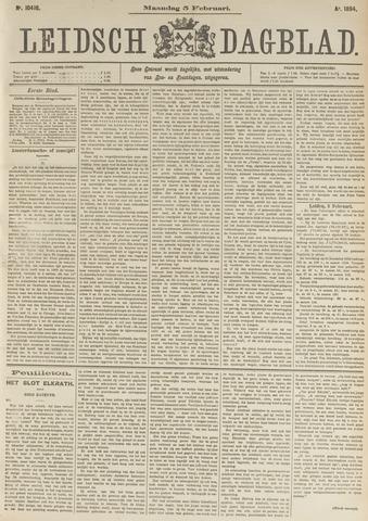 Leidsch Dagblad 1894-02-05