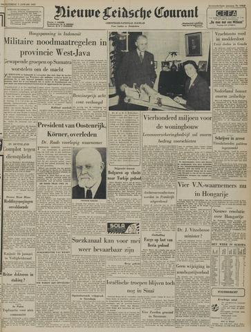 Nieuwe Leidsche Courant 1957-01-05