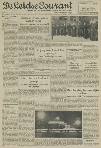 Leidse Courant 1949-10-05