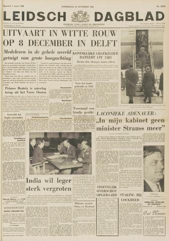 Leidsch Dagblad 1962-11-29