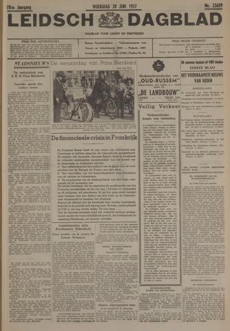Leidsch Dagblad 1937-06-30