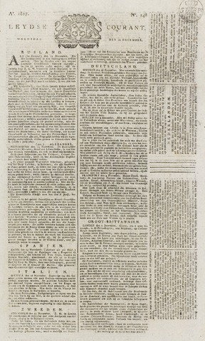 Leydse Courant 1817-12-10