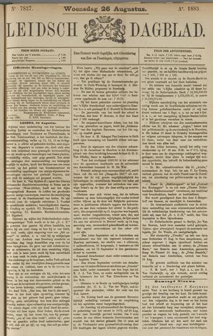 Leidsch Dagblad 1885-08-26