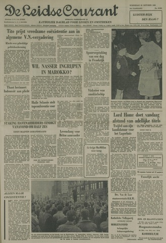 Leidse Courant 1963-10-23