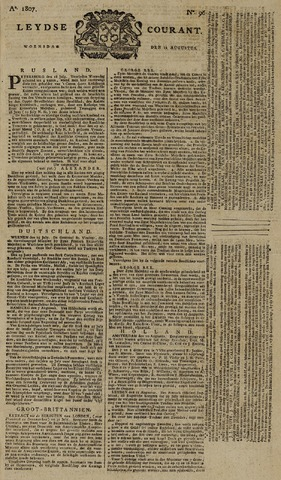 Leydse Courant 1807-08-12