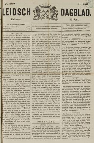 Leidsch Dagblad 1869-06-19