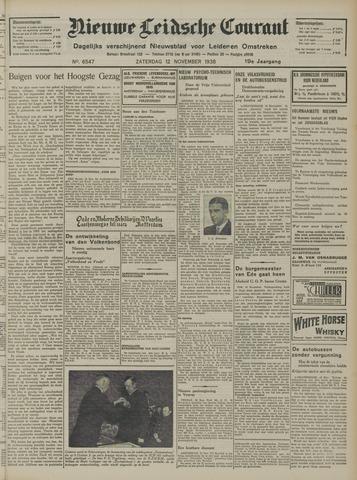 Nieuwe Leidsche Courant 1938-11-12