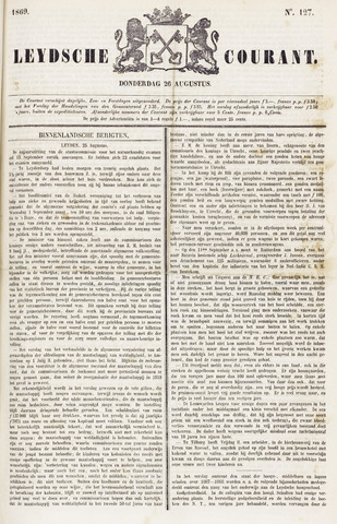Leydse Courant 1869-08-26