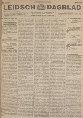 Leidsch Dagblad 1923-10-10