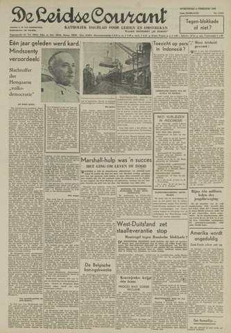 Leidse Courant 1950-02-08