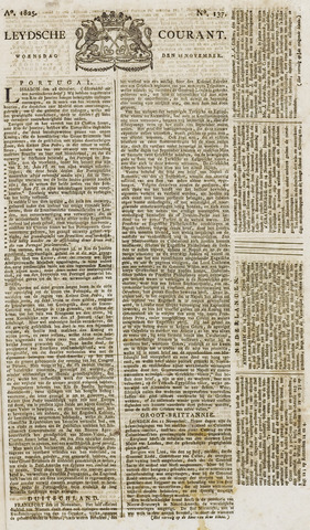 Leydse Courant 1825-11-16