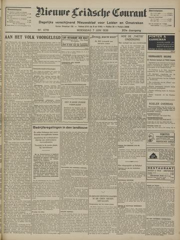 Nieuwe Leidsche Courant 1939-06-07