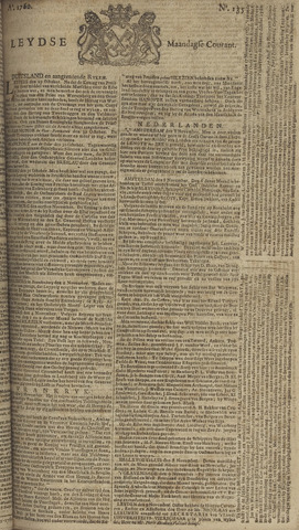 Leydse Courant 1760-11-10