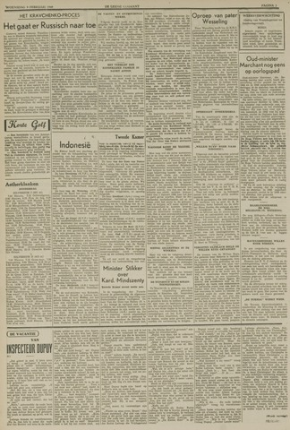 Leidse Courant 1949-02-09