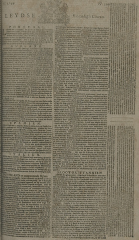 Leydse Courant 1744-09-09