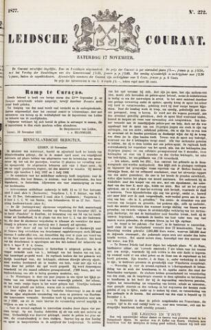 Leydse Courant 1877-11-17