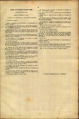 Handelingen van de Raad 1881-08-06
