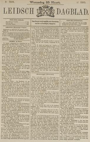 Leidsch Dagblad 1885-03-25