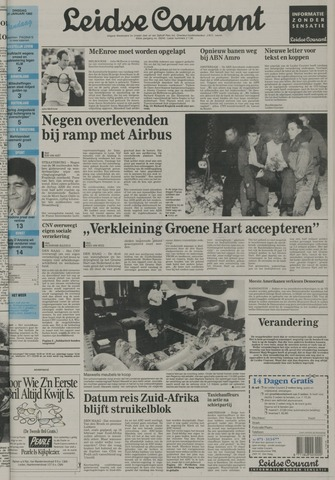 Leidse Courant 1992-01-21