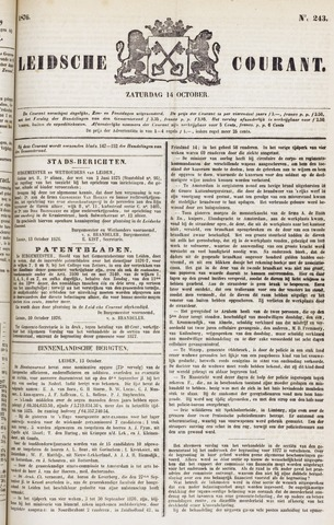 Leydse Courant 1876-10-14