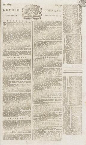 Leydse Courant 1815-11-01