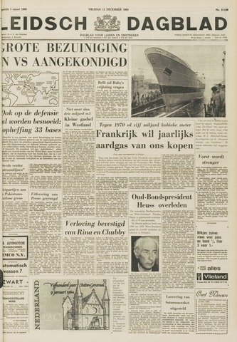 Leidsch Dagblad 1963-12-13