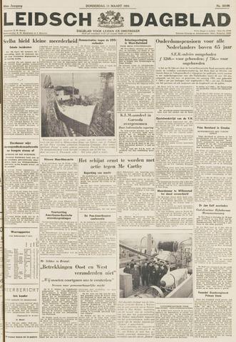 Leidsch Dagblad 1954-03-11