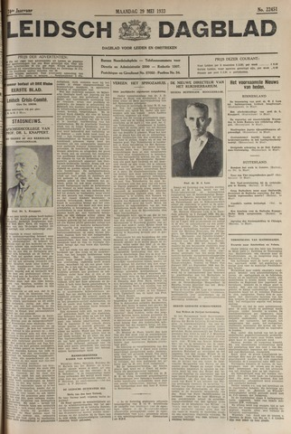 Leidsch Dagblad 1933-05-29