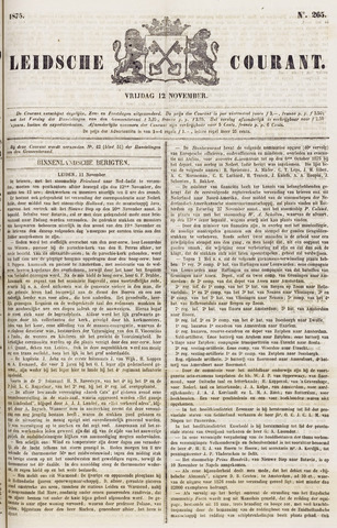 Leydse Courant 1875-11-12