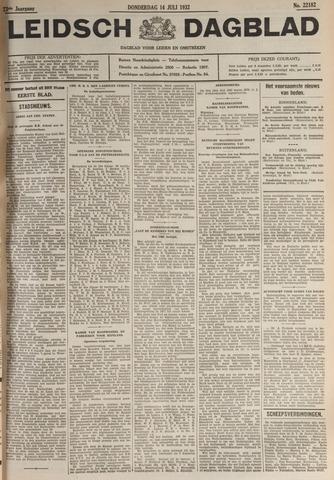 Leidsch Dagblad 1932-07-14