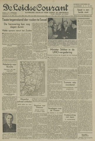 Leidse Courant 1950-09-23