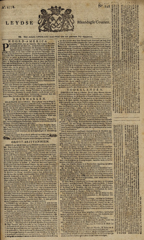 Leydse Courant 1778-10-26