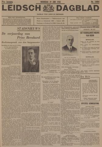 Leidsch Dagblad 1938-06-29