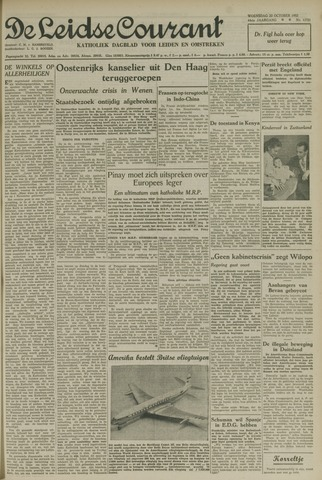 Leidse Courant 1952-10-22