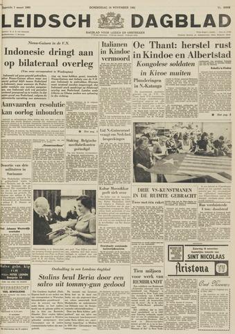 Leidsch Dagblad 1961-11-16