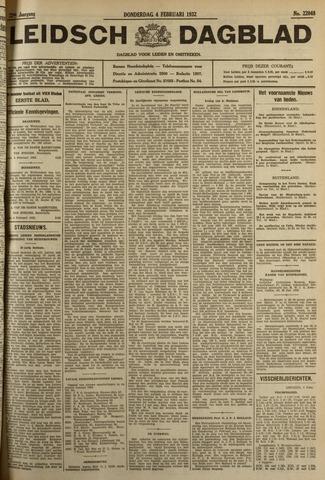 Leidsch Dagblad 1932-02-04