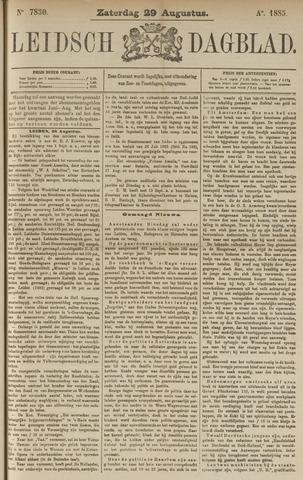 Leidsch Dagblad 1885-08-29