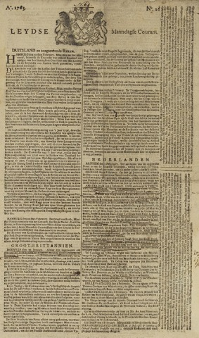 Leydse Courant 1763-02-07