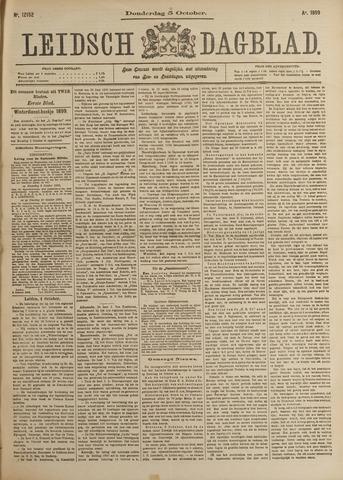Leidsch Dagblad 1899-10-05