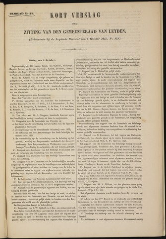 Handelingen van de Raad 1855-10-04