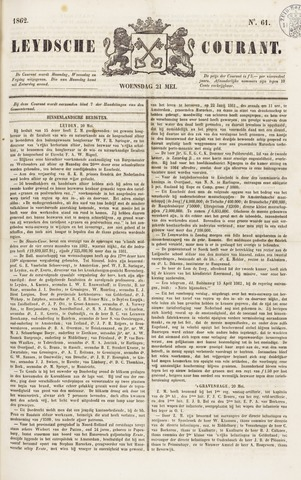 Leydse Courant 1862-05-21