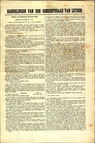 Handelingen van de Raad 1866-04-26