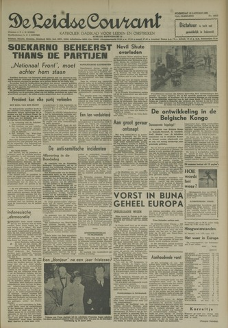 Leidse Courant 1960-01-13