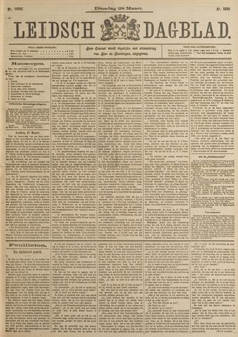 Leidsch Dagblad 1899-03-28