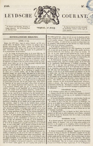 Leydse Courant 1846-07-17