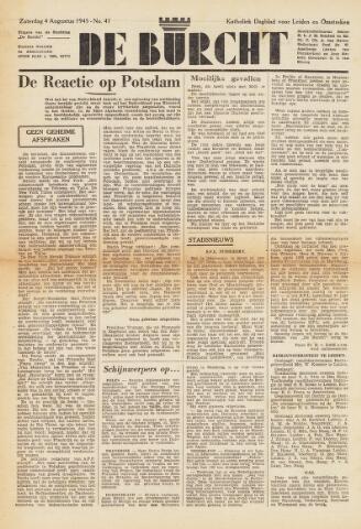 De Burcht 1945-08-04