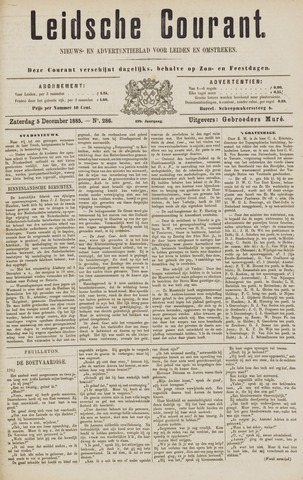 Leydse Courant 1885-12-05