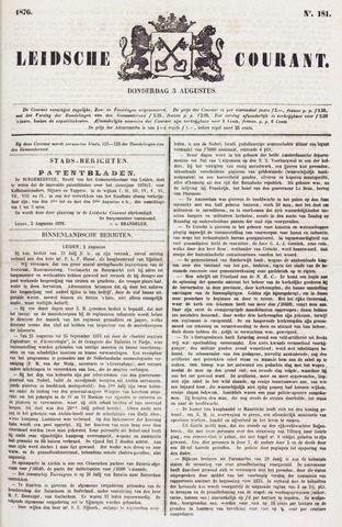 Leydse Courant 1876-08-03