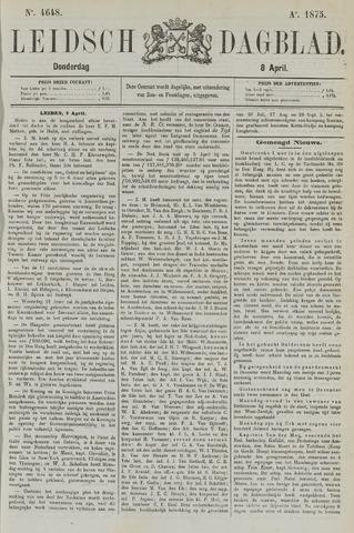 Leidsch Dagblad 1875-04-08